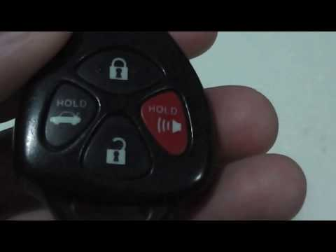 How to Replace Battery for 2009 Toyota Camry Key Remote DIY