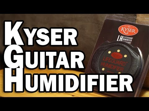 Kyser Lifeguard Acoustic Guitar Humidifier – Protect Your Acoustic Guitar from Humidity Damage