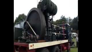3 TON FLYWHEEL! Vintage Steam Rally,Stourport 12th July 2009