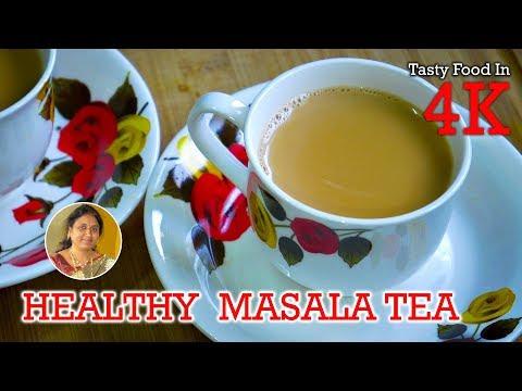Masala Chai   Healthy Indian Masala Tea   4K