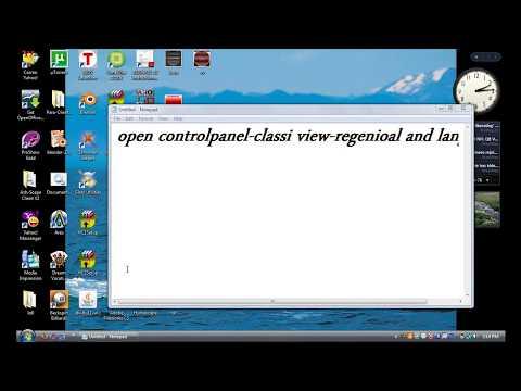 Windows : how to change keyboard language