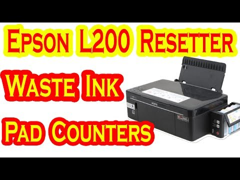 Epson L200 Resetter Waste Ink Pad Counters By AMS TECH