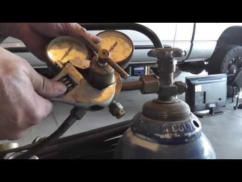 Rebuild a Victor torch regulator