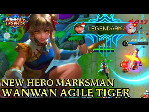 Xxx Mp4 New Hero Wanwan Gameplay Mobile Legends Bang Bang 3gp Sex