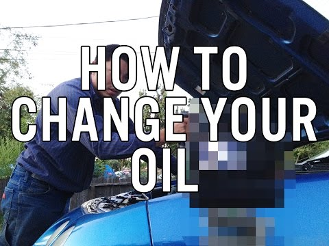 How to change your car oil with dude Grant.