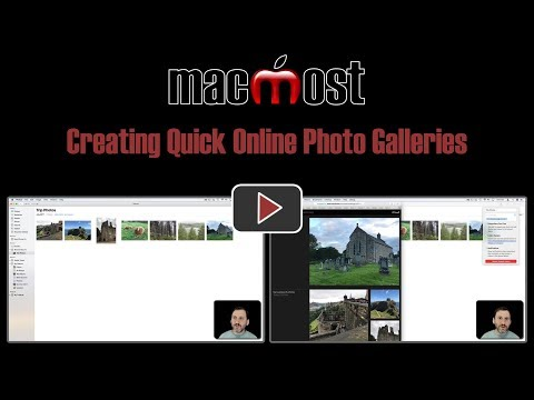 Creating Quick Online Photo Galleries (#1667)