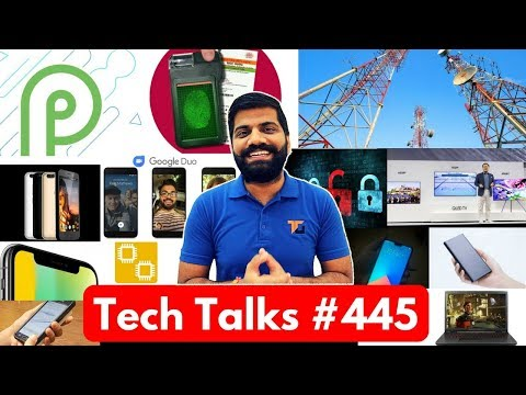 Tech Talks #445 - Android P Preview, Swipe Dual, Asus ROG, Snapdragon 855 5G, Vivo V9, iPhone XXX