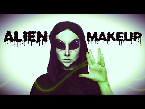 Alien   Halloween Tutorial ♡