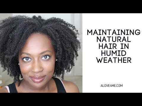 Maintaining Natural Hair in Humid Weather
