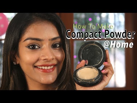 DIY How To Make Compact Powder At Home Natural Compact Powder Homemade Compact For Makeup Foxy