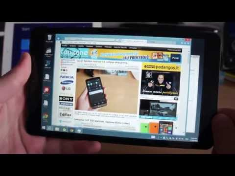How powerful is cheap Windows 8.1 tablet? / eStar Gemini test