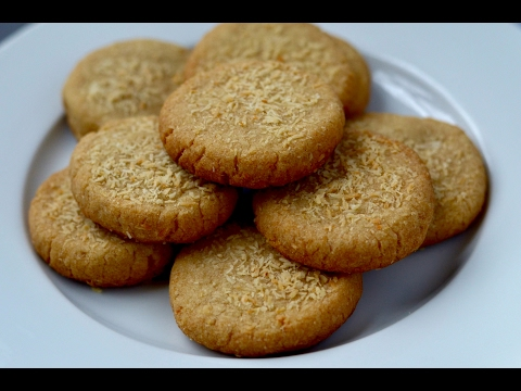 Eggless & Healthy Whole wheat coconut cookies|eggless coconut cookies |easy homemade coconut cookies