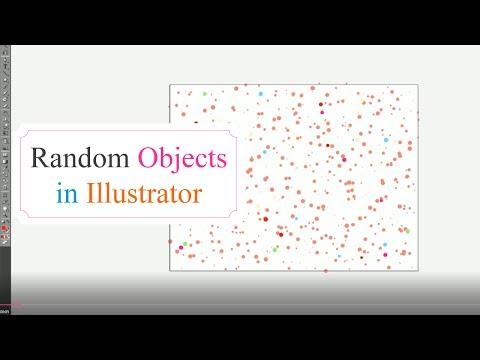 Adobe Illustrator Tutorial - Random Object Fill