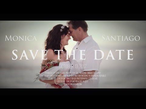 Monica + Santiago Save the date 13-Oct-2017 Punta Cana