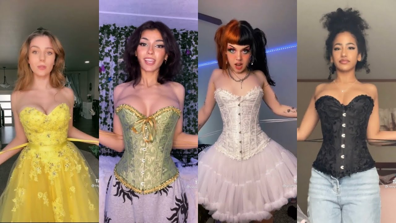 You Bring the Corsets We'll Bring the Cinchers | Haus of Holbein | TikTok Challenge Compilation
