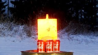 20 kilograms of red hot steel vs. Coca-Cola