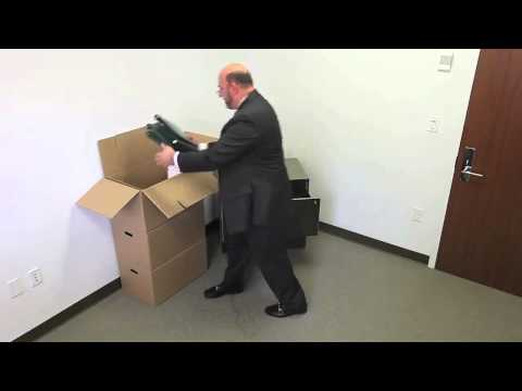 How to Assemble a Cardboard Moving Box