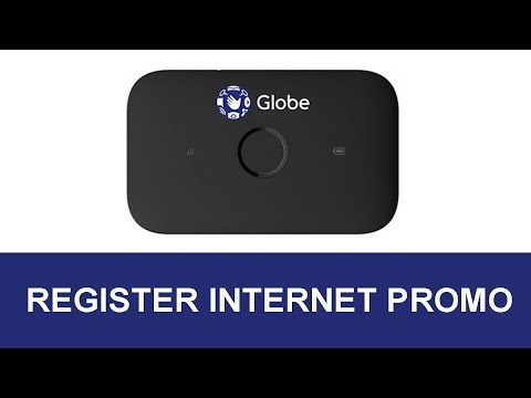 How to Register Globe LTE Pocket WiFi To Globe Internet Promo