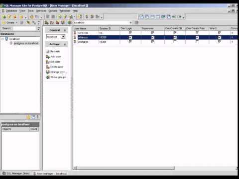 SQL MANAGER for PostgreSQL ALFRESCO BACKUP