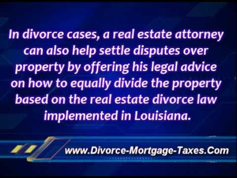 Louisiana Divorce And Real Estate