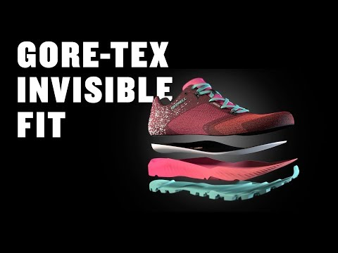 Product Technology: GORE-TEX Invisible Fit | Merrell