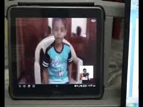 Online student Pranav from Tanzania learning Keyboard