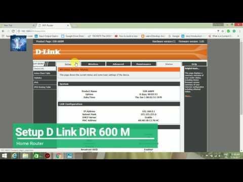D LINK | SETUP Router | D LINK DIR 600M
