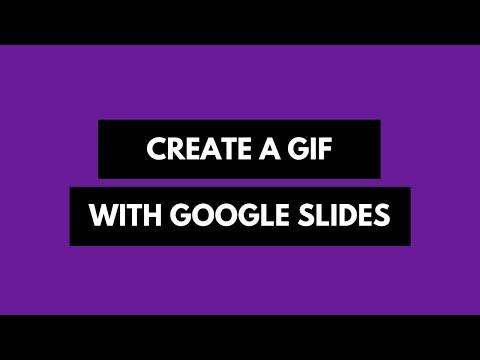 Convert Google Slides into Animated GIF