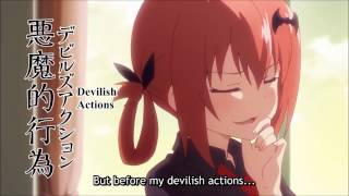 gabriel dropout a smug satania shows off daikhlo