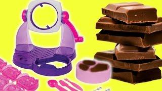 Download Çikolata Yapımı | Çikolata Makinesi Oyuncak Tanıtımı | EvcilikTV Video