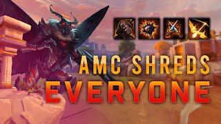 This AMC Build SHREDS EVERYONE!! - SMITE Ranked