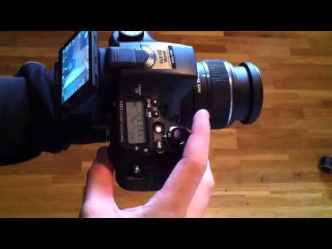 Sony A77 - 12 FPS - Shutter Speed Shooting (Alpha/DSLR Camera)