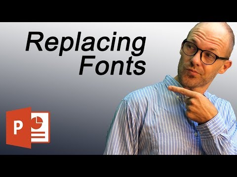PowerPoint Change Fonts All Slides (Font Changer Command)