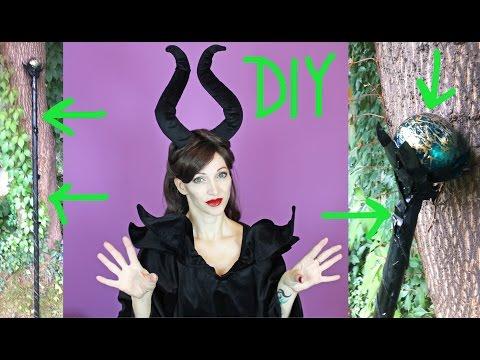 DIY Maleficent Staff - Halloween 2015 #4