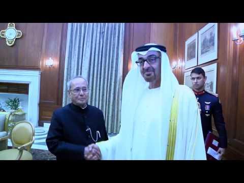 Crown Prince of Abu Dhabi call on the President