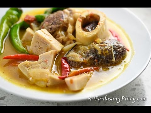 Cansi (How to Cook Beef Shank in Sour Broth)