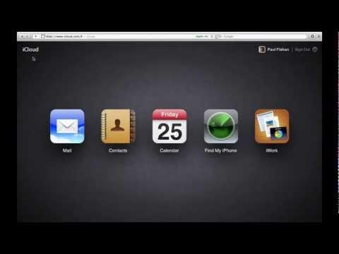 iCloud.com & Find My iPhone