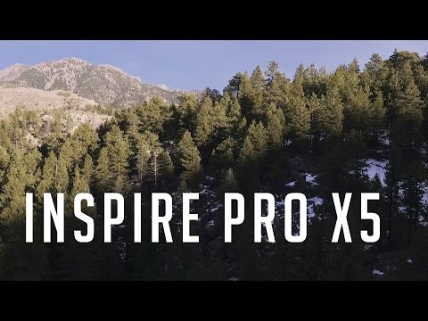 Flying the Insipre 1 Pro X5 in Colorado