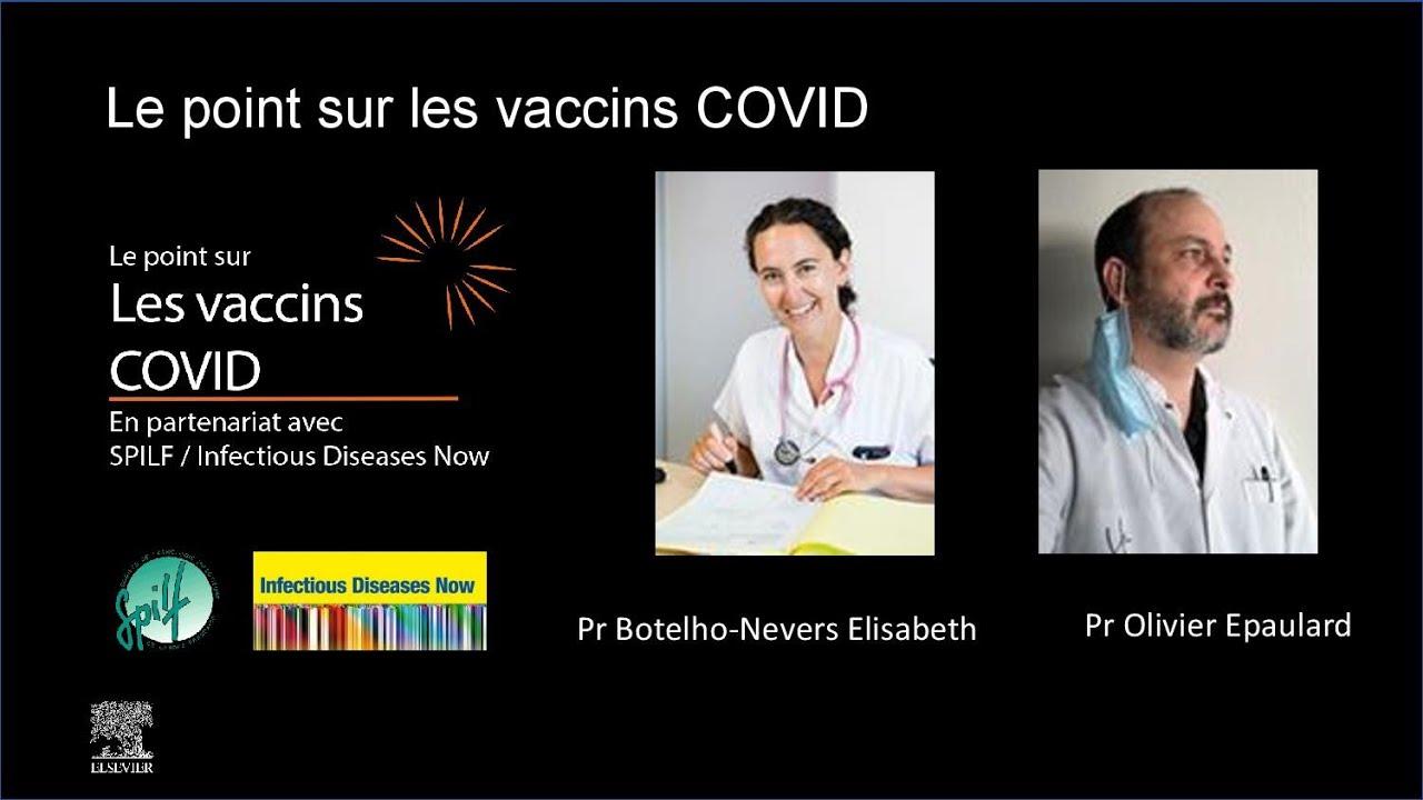 Le point sur les vaccins COVID