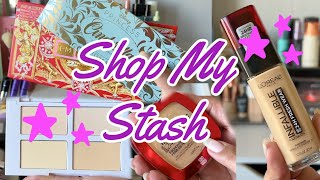 Weekly Shop My Stash | Picking Newer Products in My Collection