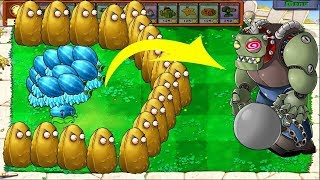 Plants vs Zombies 2 Final Boss: ALL PLANTS MAX LEVEL! vs ALL