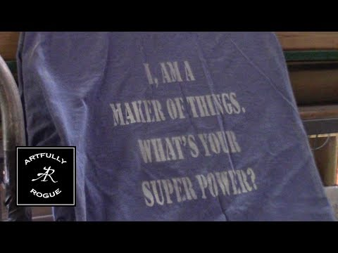 DIY T Shirt Printing - Just a quickie
