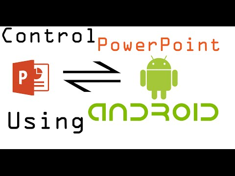 Control PowerPoint using Android