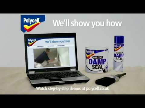 Polycell 3 in 1 Damp Seal TV ad