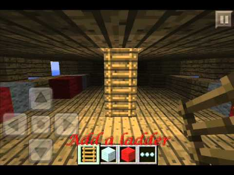 How To Build a Ship on Minecraft Pocket Edition