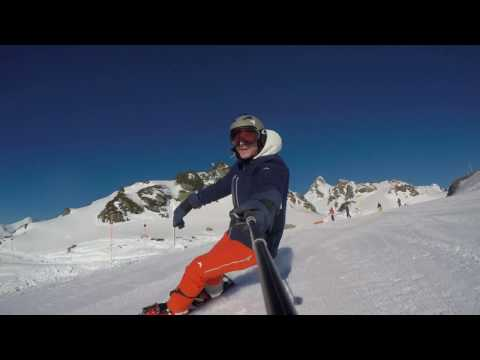 High speed / fast snowboaring / Carving - 101 kmph top speed