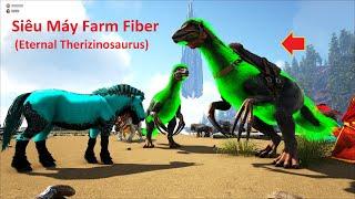 """ARK: Ragnarok Mod #4 - Mình Đã Taming Được """"T-Rex Eternal"""" và Siêu Máy Farm """"Therizinosaurus"""""""