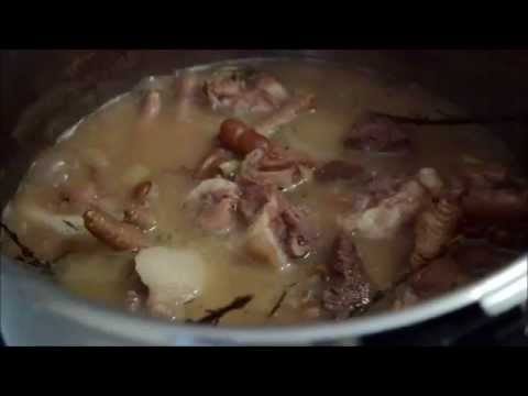 How to cook stew peas with pigtail, chicken foot and stew beef from scratch