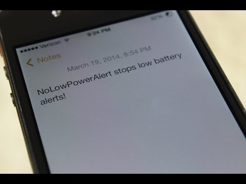 How to Stop the Low Battery Alert in iOS