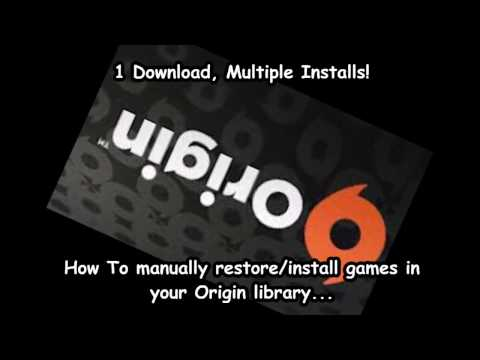 HowTo: Backup and Restore your Games in Origin Updated for 2017!